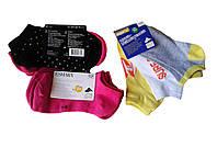 Носки короткие для девочки, тонкие, (3 шт.в упаковке), размеры 31/34,35/38(2шт). Peppers, арт. Л-454