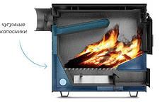 """Твердотопливный котел """"Буржуй КП-10"""" с плитой, выход дымохода вверх 3 мм, фото 2"""