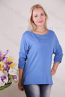 Блуза-туника трикотажная 425-осн824 полубатал оптом от производителя Украина