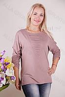 Блуза-туника трикотажная 428-осн824 полубатал оптом от производителя Украина