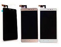 Дисплей Xiaomi Redmi Note 3 PRO Special Edition ксиоми с тачскрином в сборе, цвет золотой