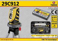 Лазерный прибор λ-635мм,  TOPEX  29C912