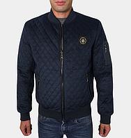 Стильная осенняя куртка - 269 синий
