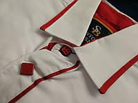 Белые стильные, модные и современные рубашки для мальчиков 2 лет. Производство-Турция.