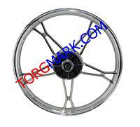 Диск (колесо) задний 1,6-17 дюймов алюминиевый Дельта
