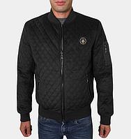 Модная куртка осенняя - 269 черный, фото 1
