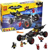 """Конструктор Bela  Batman Movie 10634""""Бэтмобиль""""  (аналог Lego  70905) ,610 дет"""
