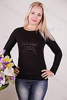 Блуза-туника трикотажная 400-осн707 норма оптом от производителя Украина