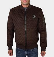 Куртка осенняя стеганая - 269 коричневый