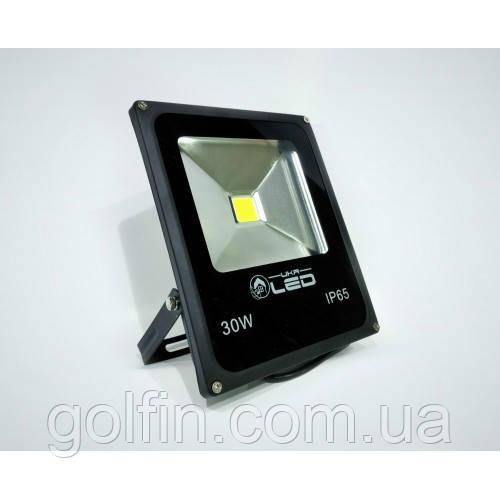Светодиодный прожектор (LED) 30W - матричный SLIM ECO