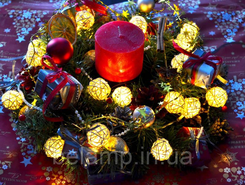 новогодний венок купить украина