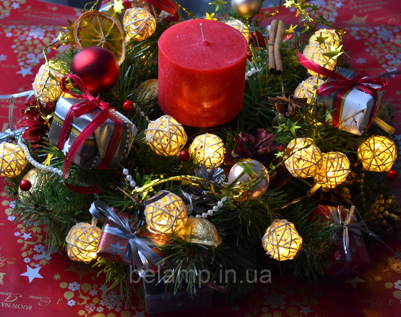рождественский венок купить киев
