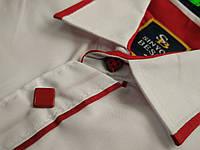 Белые стильные и современные рубашки для мальчиков 3 лет. Производство-Турция.