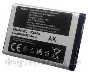Аккумулятор Samsung E1200i AB463446BU   , оригинал