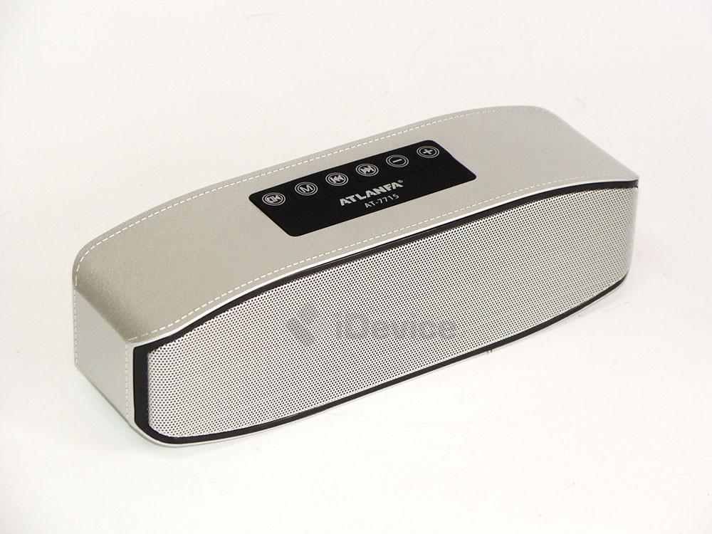 Портативная колонка Atlanfa AT-7715 Bluetooth, USB, FM