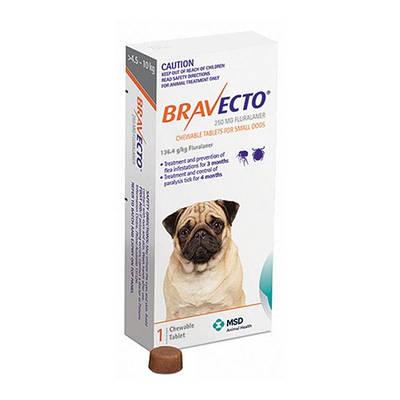 Бравекто для собак 4,5 - 10 кг
