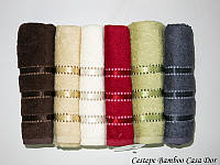 Полотенца бамбуковые упаковка 6шт Cestepe Bamboo 70*140 - Casa Dor