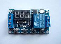 Таймер XY-J02/WS-16 6-30v Релейный модуль времени программируемый