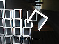Алюминиевый профиль — швеллер размером 12х12х1,5 Б/П