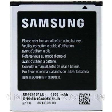Акумулятор Samsung Galaxy S Duos s7562 zka EB425161LU, оригінал, фото 2