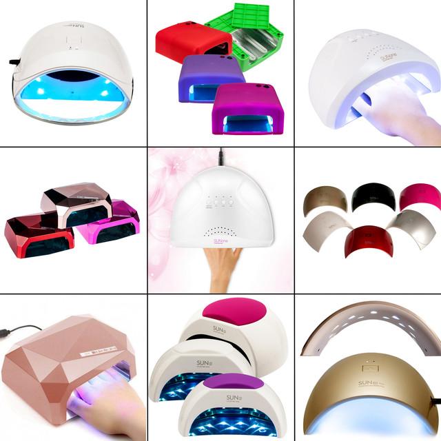 Лампы УФ, LED, CCFL - для наращивания и покрытия ногтей