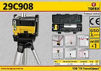 Лазерный прибор λ-650мм,  TOPEX  29C908