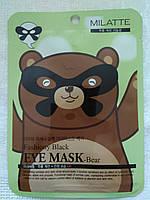 """Тканевая маска для глаз """"Мишка""""  В BC"""