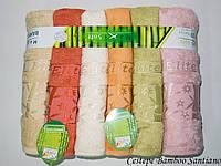 Полотенца бамбуковые упаковка 6шт Cestepe Bamboo 70*140 - Santiano