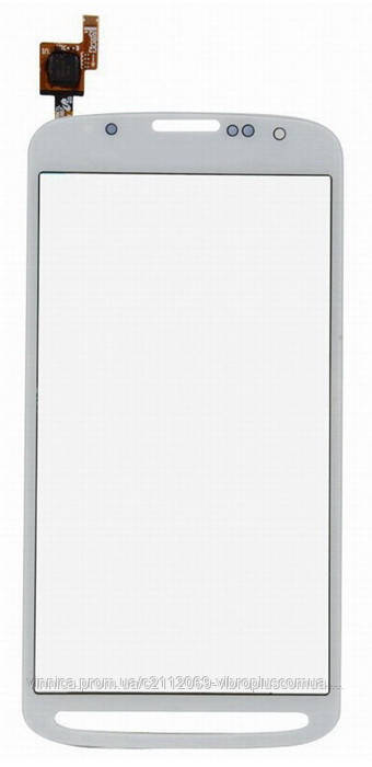 Тачскрин (сенсор) Samsung I537, I9295 Galaxy S4 Active, white (белый)