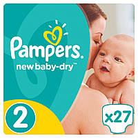 Подгузники Pampers New Baby Mini 2 (3-6 кг) 27 шт.