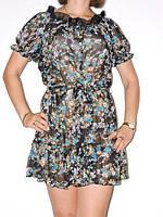 Модная женская туника-платье 40,42,44,46 размер