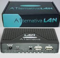 Спутниковый HD тюнер U2C A1ternativa LAN