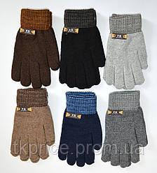 Детские трикотажные перчатки для мальчиков - длина 20 см