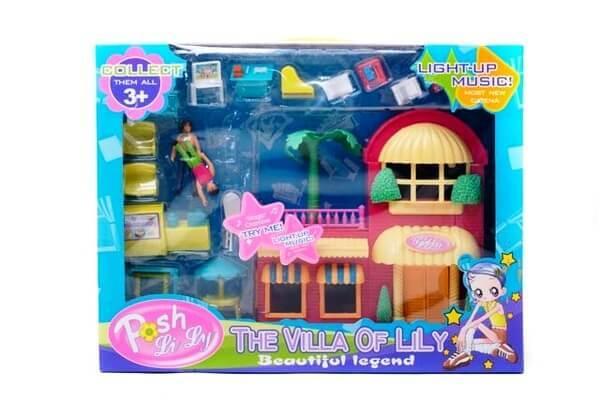 Домик для кукол 1123В