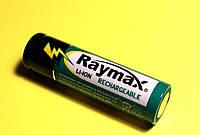 Аккумулятор  Li-Ion 18650 3.7V 1500мАч  Raymax