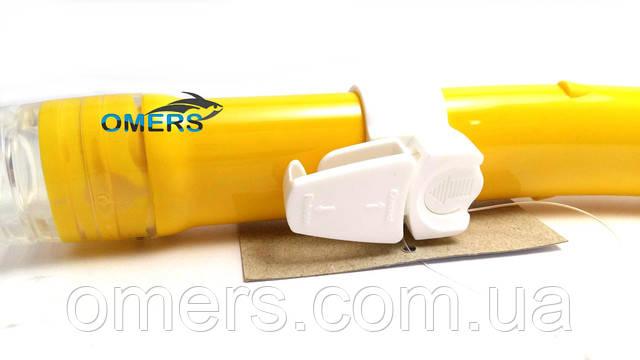 Трубка CRESSI TAO Dry желтая для дайвинга