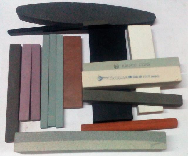 Точильные камни для заточки ножей