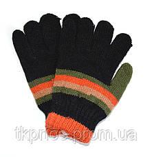 Детские трикотажные перчатки для мальчиков - длина 15 см, фото 3