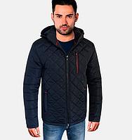 Мужская осенняя куртка - 1720 синий