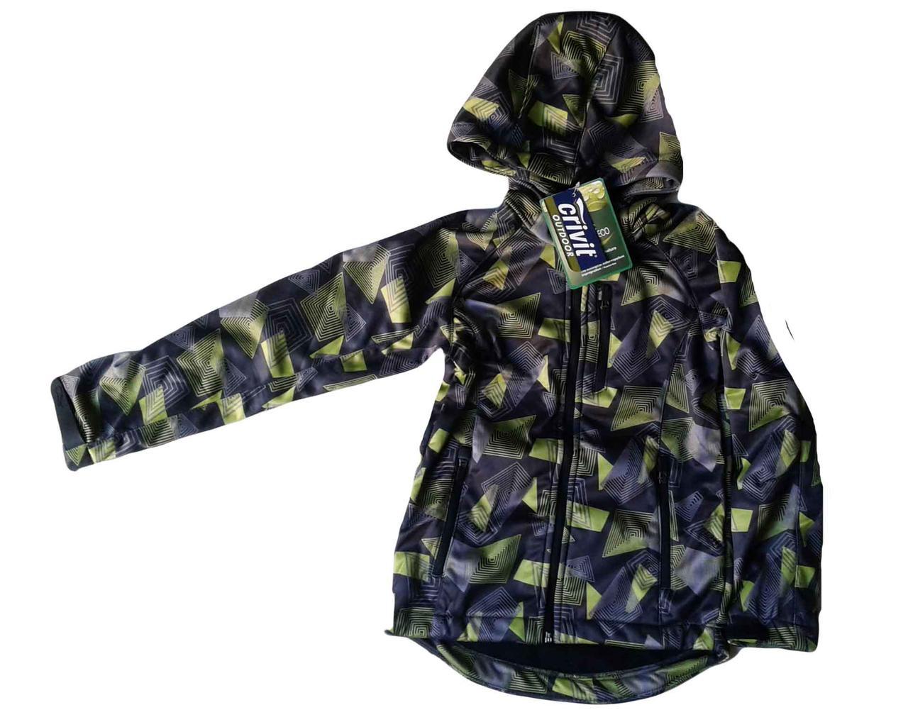 Куртка на флисовой подкладке, размеры 122/128,  Crivit, арт. Л-474