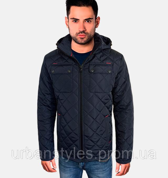20a459bfeb04 Осенняя классическая куртка - 1721 синий, цена 890 грн., купить в ...