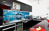 Стеклянный кухонный фартук с изображением Арктики