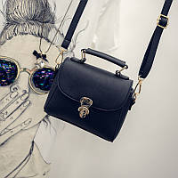 Женская черная мини сумочка 1610 опт