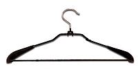 Плечики силиконовые для верхней одежды с перекладиной, 44 см