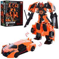 Трансформер Transformers J8018E Робот+машина