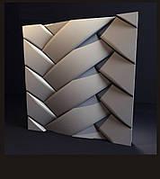 """Гипсовые 3D панели """"Переплет"""""""