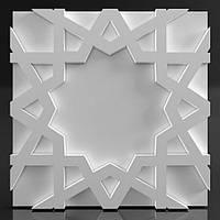 """Декоративные гипсовые 3D панели для стен  """"East-2"""""""