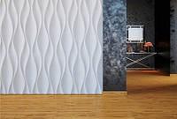 """Декоративные гипсовые 3D панели для стен  """"Кувин"""""""