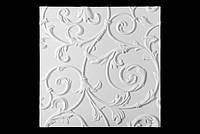 """Декоративные гипсовые 3D панели для стен """"Lilia"""""""