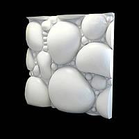 Дизайнерские гипсовые 3d панели для стен «Bulyznik»